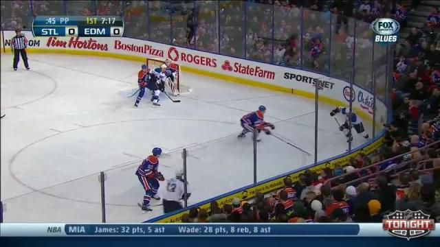 St. Louis Blues at Edmonton Oilers - 01/07/2014