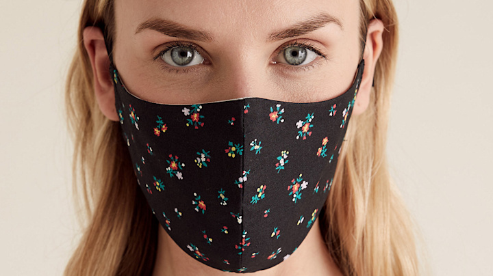 M&S launches stylish reusable face mask designs for autumn