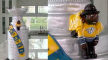 P.K. Subban honored by Quebec pastry chef with Stanley Cup cake (Video)