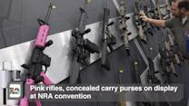 Pink Rifles, Concealed Carry Purses on Display at NRA Convention