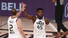 NBA playoffs tracker: Jazz cruise by Nuggets behind another big game from Donovan Mitchell