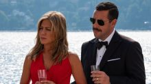 Jennifer Aniston & Adam Sandler Seen Together in New Netflix Film   Murder Mystery for the First Time