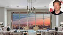 Matthew Perry vende su lujoso ático de Hollywood: así es por dentro