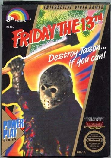 Happy Friday the 13th! Destroy Jason ... if you can!
