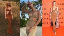 Vestido decotado de Marina custa quase R$ 3 mil e promete bombar no verão