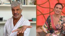 """Após polêmica com Fátima, Lulu Santos debocha: """"Hoje vai ter masturbação?"""""""