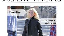 Look des Tages: Gwen Stefani in Rollkragenpulli und Schnür-Stilettos