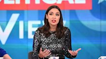 Alexandria Ocasio-Cortez responds to article on her 'View' dress: 'Sequins are a great accessory to universal healthcare, don't you agree?'