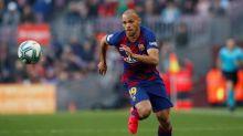El delantero del Barcelona Braithwaite es baja por esguince de tobillo