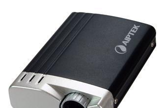 Aiptek debuts USB-powered T20 pico projector, T30 model for iPods