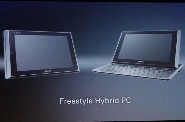 Sony teases 'Freestyle Hybrid PC' tablet slider and next-gen ultra-portable laptop