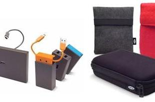 LaCie intros Core4 and Core7 USB hubs, various HDD bags