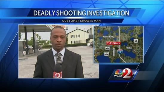 Authorities investigate Lee Road 7-Eleven shooting