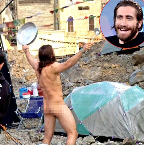 Something is. jake gyllenhaal naked pictures that