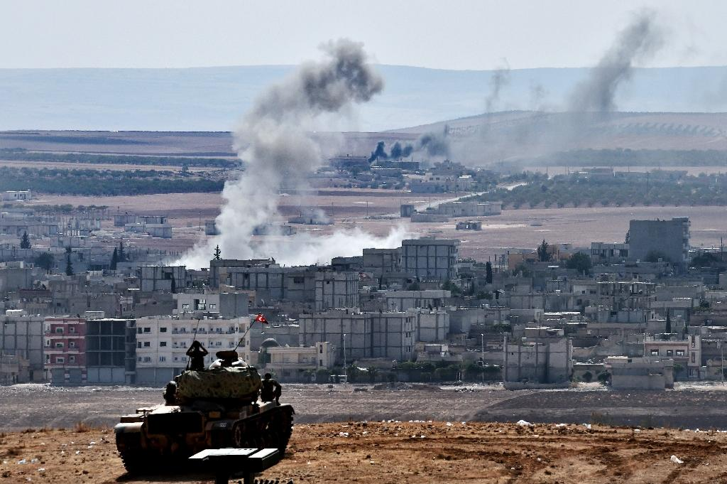 Turkey has been fighting the Islamic State jihadist group in Syria since August 2016
