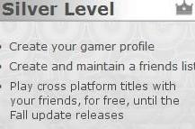 Silver Live members get free cross platform title playtime through Fall
