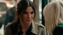Sandra Bullock y Cate Blanchett se van de robos en el primer tráiler de Ocean's 8