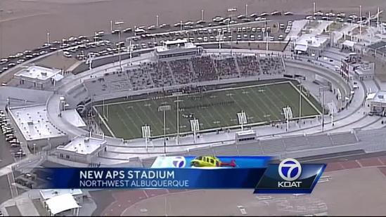 Visitors express feelings on opening night at APS Community Stadium