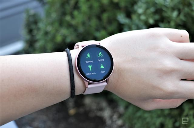 Galaxy Watch Active 2 gets some of the Galaxy Watch 3's best features