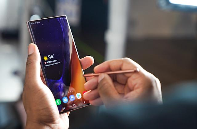 Samsung's 120Hz mobile displays use variable refresh rates to save power