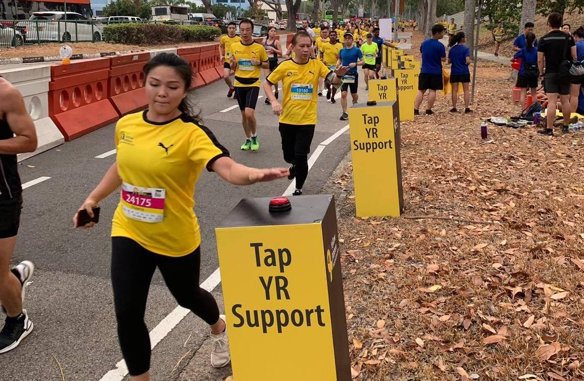 Man and woman under investigation for wearing anti-death penalty t-shirts at Yellow Ribbon Prison Run