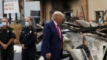 Trump backs police in Kenosha, city at heart of debate over race, justice