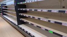 Don't panic over empty supermarket shelves, minister urges