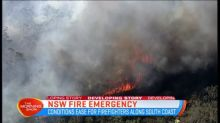 Conditions helping NSW firefighters