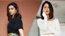 Inspired By Deepika Padukone's Stylish Casual Attire, Hina Khan Nails The Similar Look Fabulously