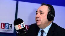 Alex Salmond's LBC Show Ends - But He Continues To Host RT Slot Despite Criticism