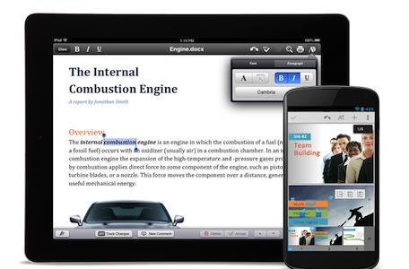 Google makes Quickoffice for iOS free and universal