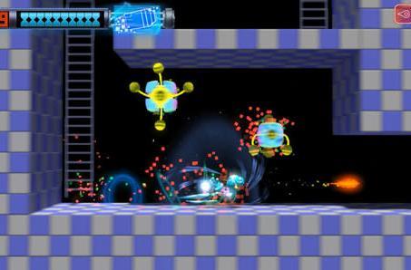 Mighty No. 9 alpha screens recall Mega Man's glory days