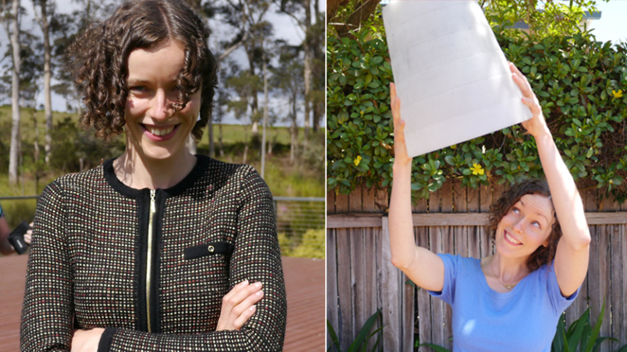 Woman's simple tip on how to line your bin after plastic-bag ban