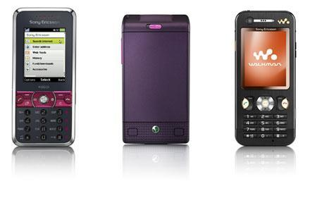 Sony Ericsson intros K660, W380 and W890 handsets