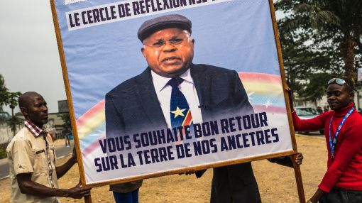 Congo opposition chief comes home as crisis looms