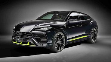 2020北京車展報導:LAMBORGHINI為買家Urus推出石墨新車色與霓虹色新配件
