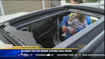 Owner says dealership won't pay after new Kia's sunroof explodes
