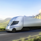 Tesla's New Semi Truck Stays Charged and Drives Fast