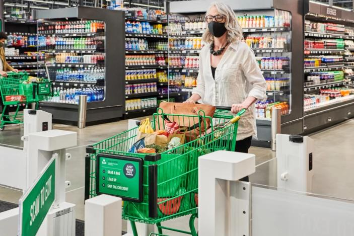 Amazon is bringing its Just Walk Out tech to a full-size Fresh store for the first time