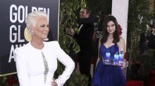 Jamie Lee Curtis is NOT a fan of the Fiji Water Girl