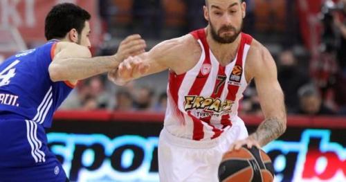 Basket - Euroligue (H) - L'Olympiakos débute bien en quarts de finale