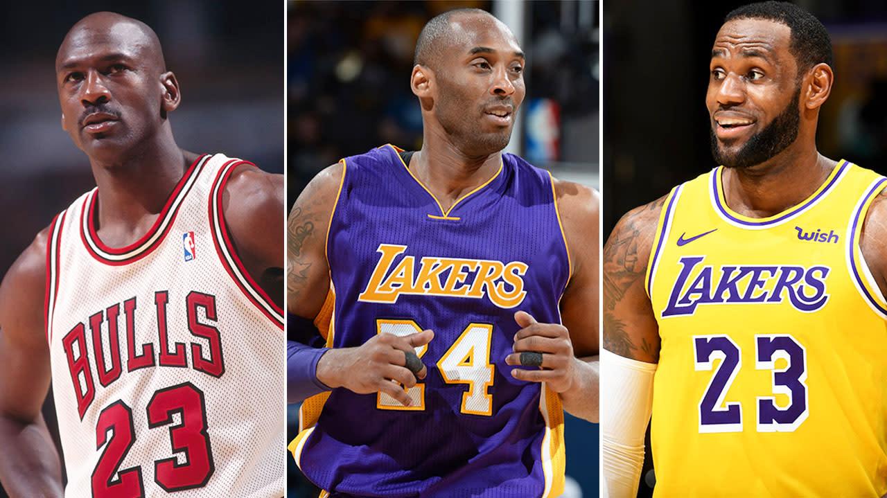 07b57140 Kobe ranks himself, MJ over LeBron in 'GOAT' debate