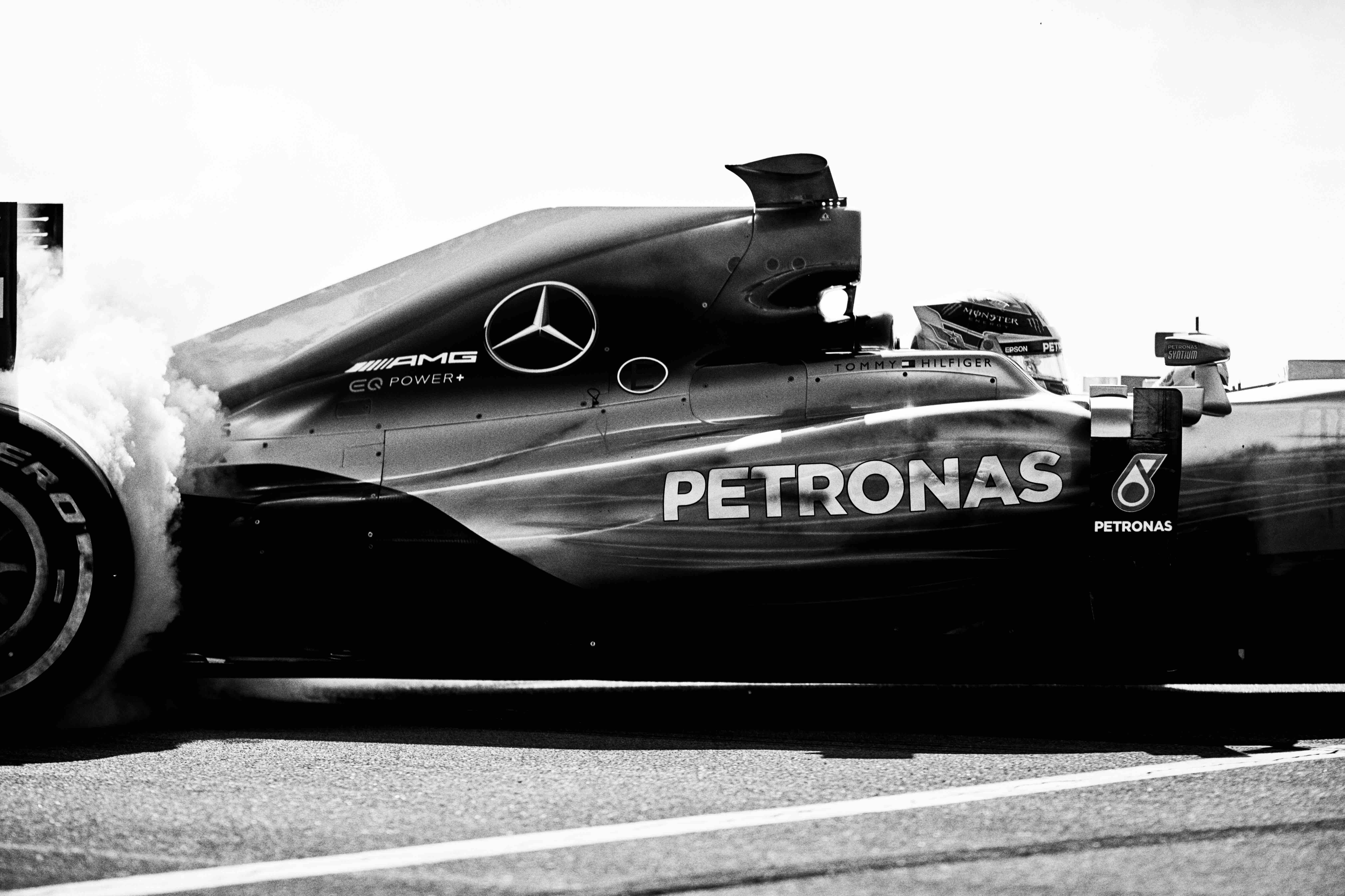 hilfiger teams with formula one world champion mercedes