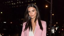Emily Ratajkowski Calls Out Journalist for Slut-Shaming Melania Trump