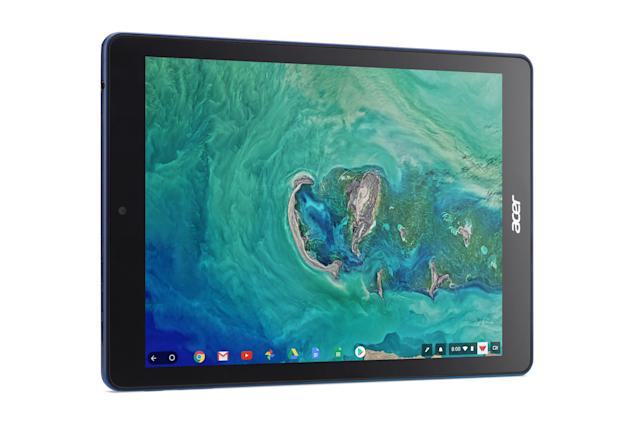 The first Chrome OS tablet comes from Acer