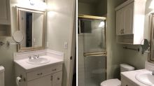 Casal faz reforma no banheiro e descobre mensagem oculta de antigos moradores