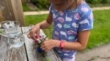 Child's backyard flower business earns thousands for Ronald McDonald House