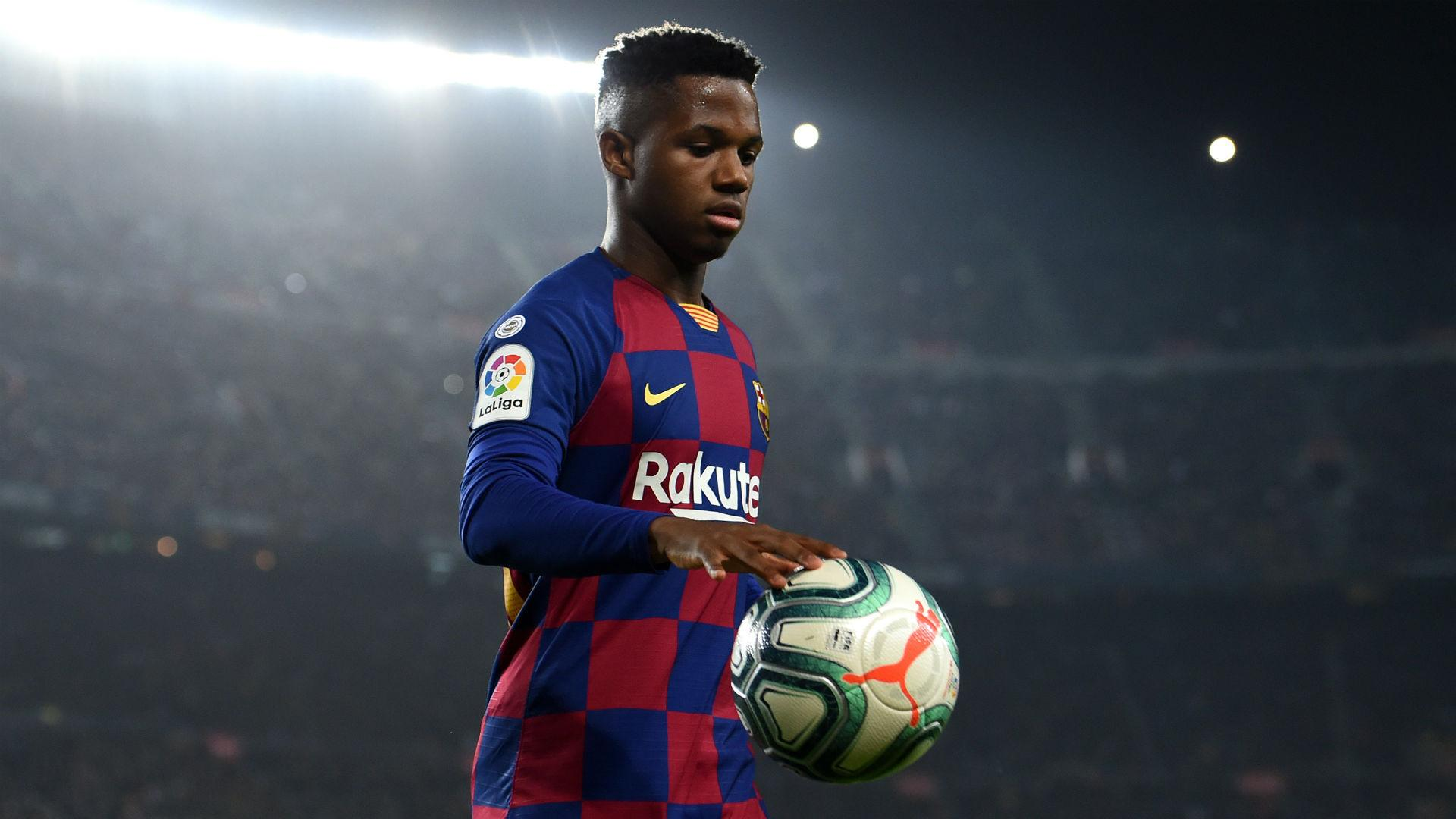 Rumour Has It Barcelona To Extend Fati Contract Until 2024 Madrid Follow The New Varane
