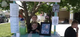 Their sister died awaiting a transplant. So they did this.