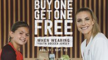 Chipotle To Offer BOGO For Customers Sporting Youth Soccer Jerseys To Kick Off Youth Soccer Month